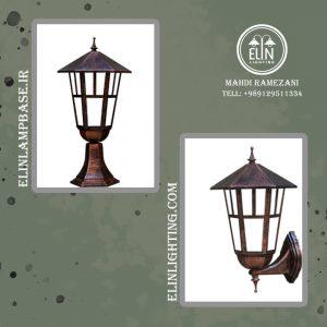 صادرات انواع چراغ دیوارکوب