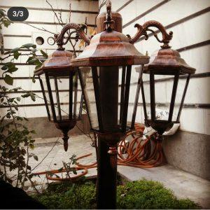 ارزانترین چراغ چمنی و چراغ باغی