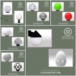 حباب پلی کربنات در طرحها و رنگهای مختلف